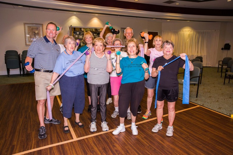 Lifespace Residents Focus on Wellness