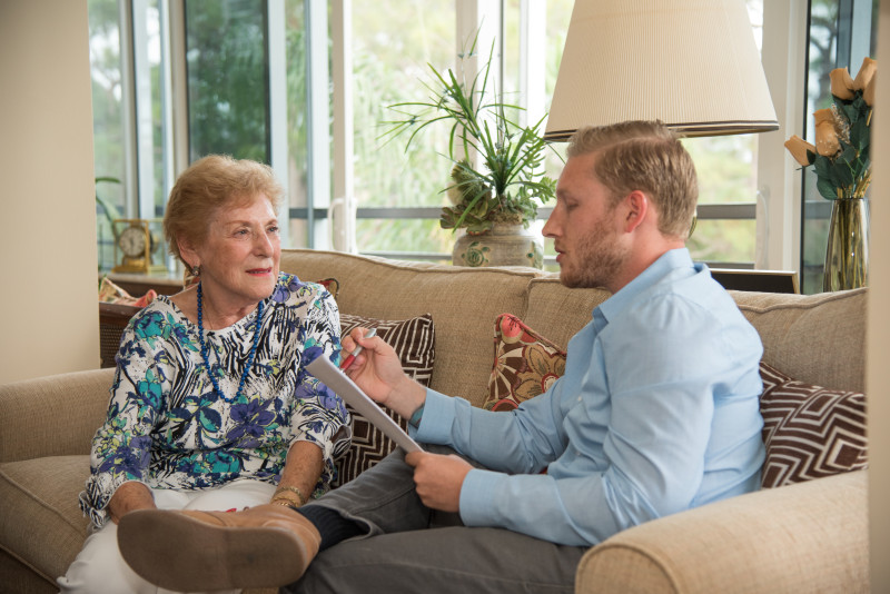 Residents Help the Next Generation Understand Aging