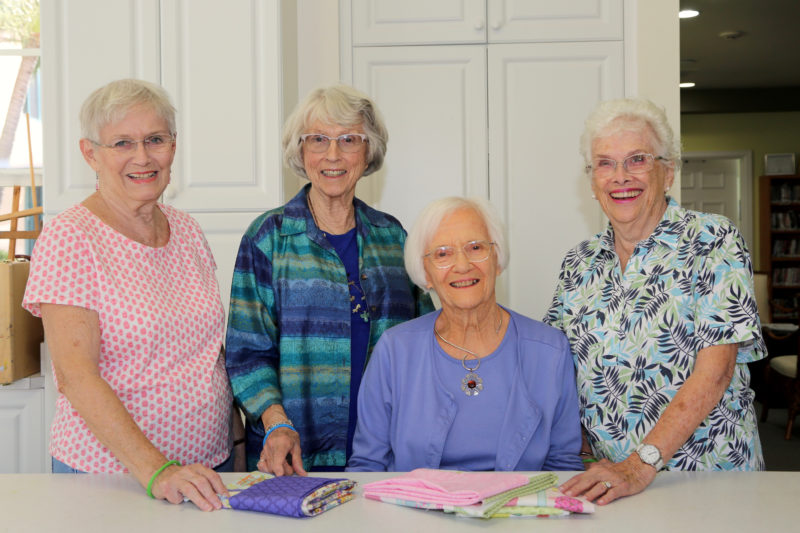 Producing Pillowcases and Smiles at The Waterford
