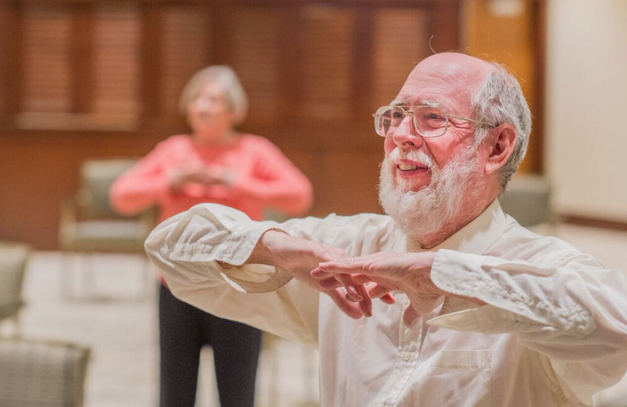 Residents Benefit from Tai Chi